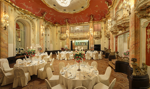Wedding receptions in prague weddings prague grand for Grand hotel bohemia prague restaurant