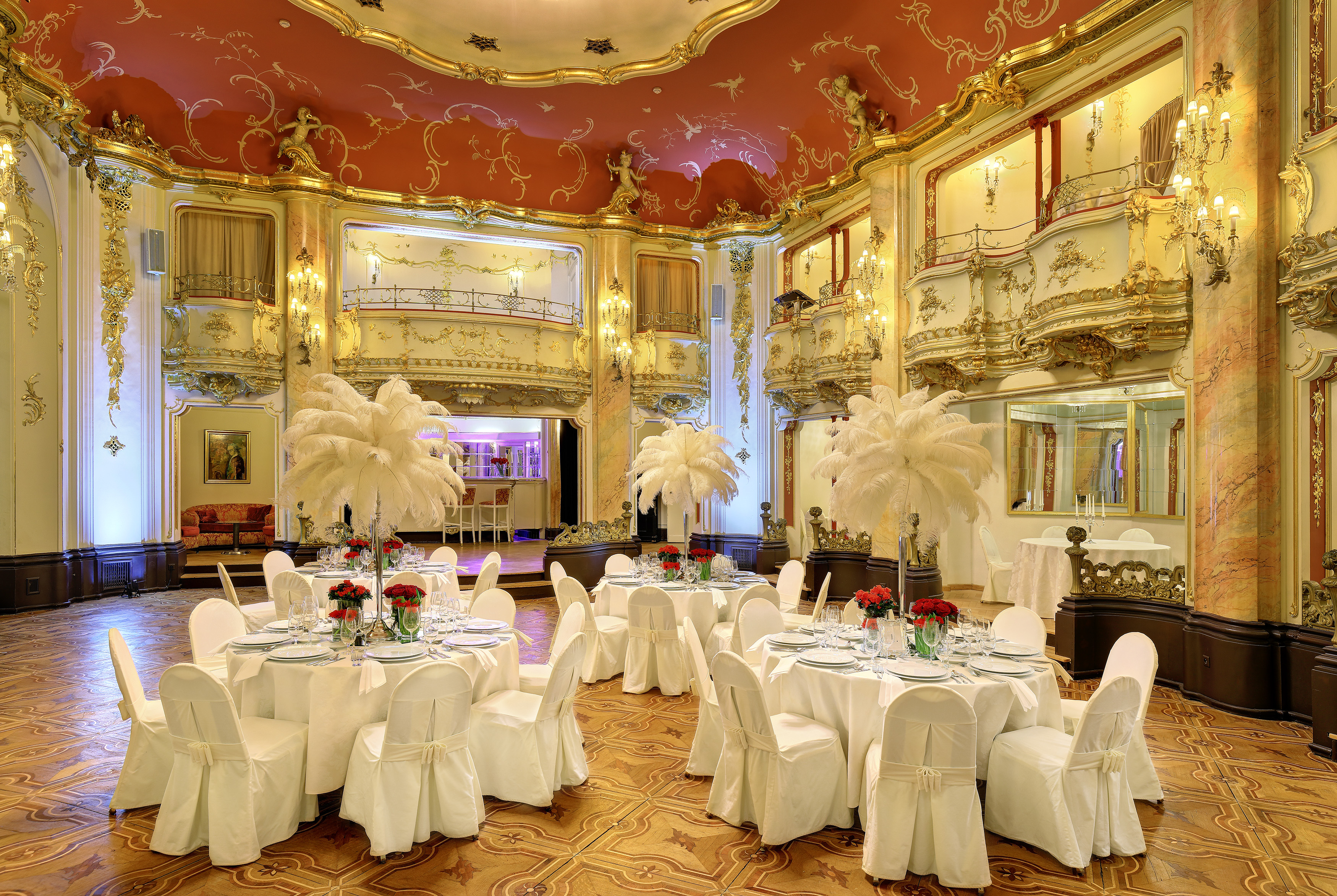 Wedding venues grand hotel bohemia for Grand hotel bohemia prague restaurant