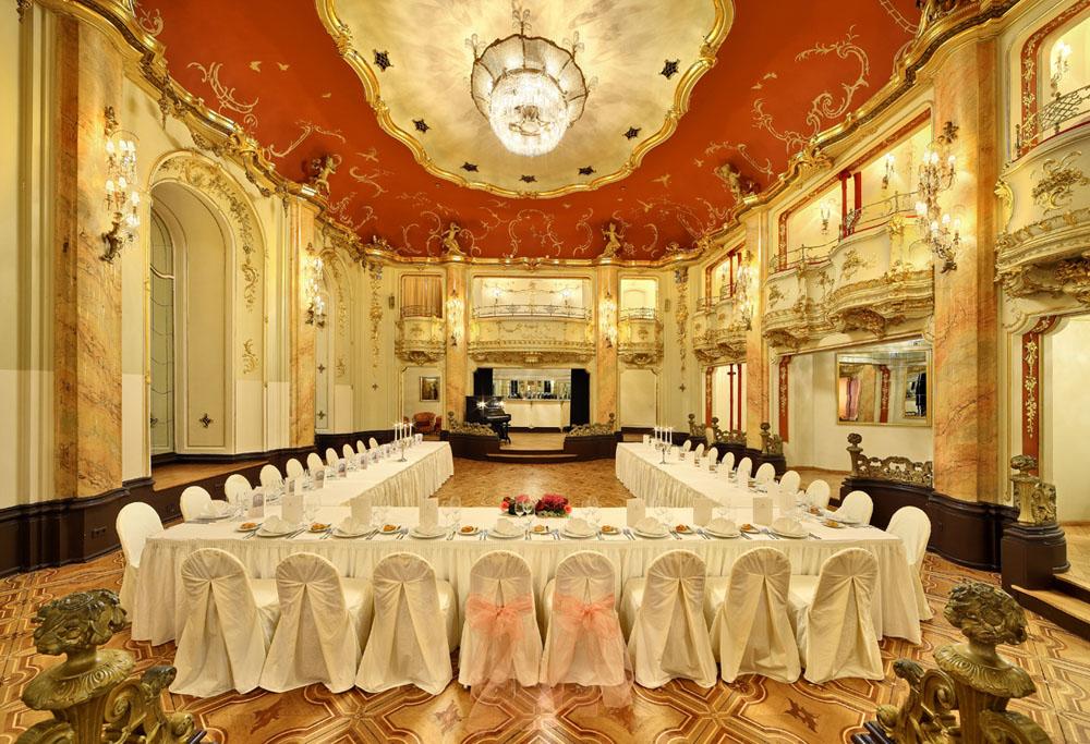 Wedding receptions in prague weddings prague grand for Grand hotel bohemia hotel prague