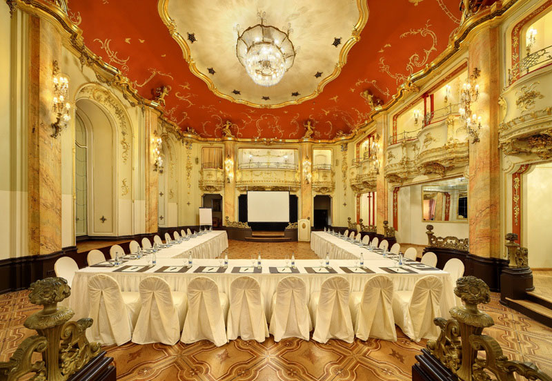 Konferenzen konferenzr ume saal vermietung grand hotel for Grand hotel bohemia hotel prague