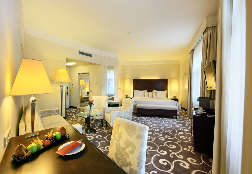 Prague Accommodation In Luxury Hotel Rooms Grand Hotel