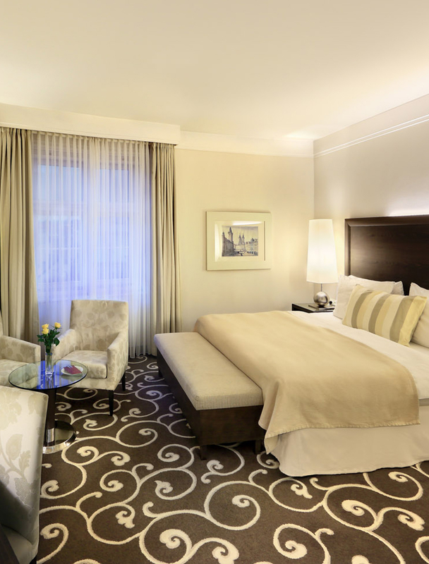 Standard Hotel Room: Prague Accommodation In Luxury Hotel Rooms